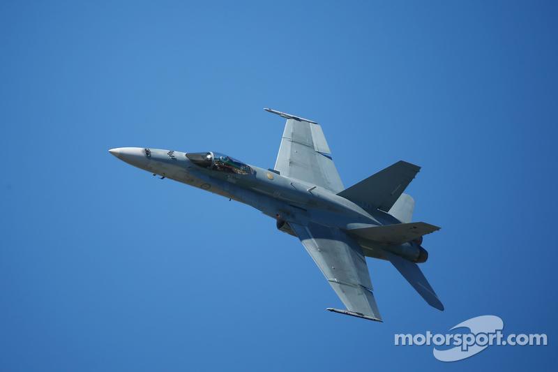 一个战斗机飞行员