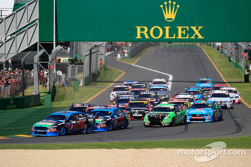 Start: Mark Winterbottom, Prodrive Racing Australia, Ford