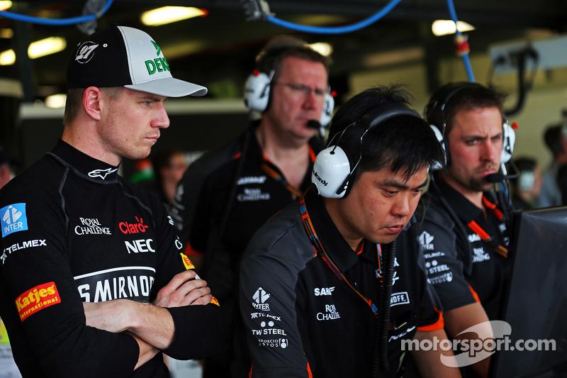 Ніко Хюлкенберг, Sahara Force India F1 з Юн Мацузакі, Sahara Force India F1 Team Старший шинний інже