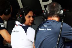 Мониша Кальтенборн, руководитель Sauber Team