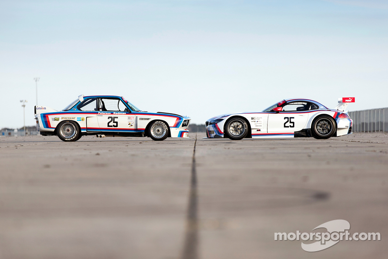 1975 宝马 IMSA 3.0 CSL 和2015 Team RLL,宝马Z4