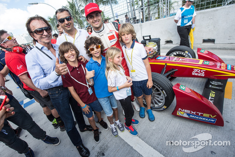 Nelson Piquet jr., China Racing, mit Emerson Fittipaldi