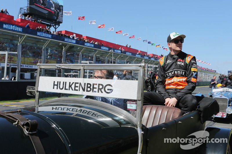 Nico Hulkenberg, Sahara Force India F1 di drivers parade