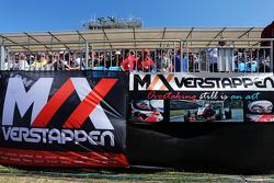 Max Verstappen, Scuderia Toro Rosso-spandoeken