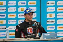Post-race press conference: second place Scott Speed