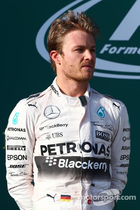 Peringkat kedua Nico Rosberg, Mercedes AMG F1 W06