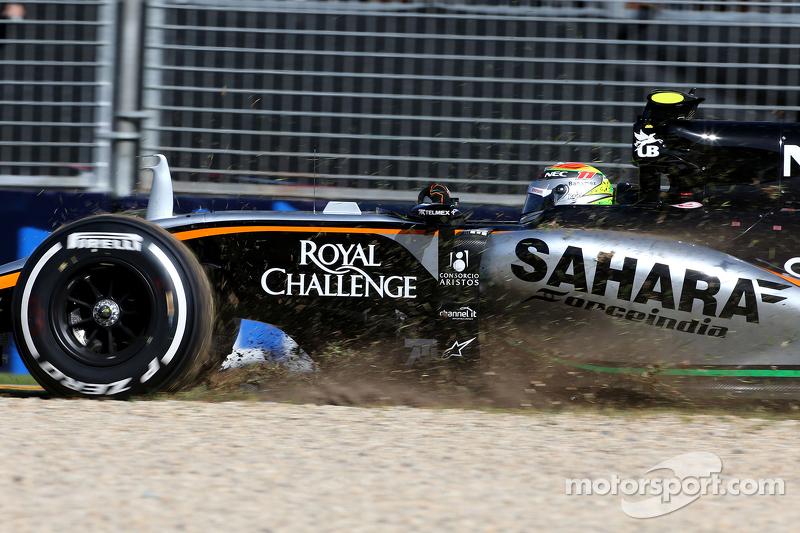 Гран При Австралии, 13 марта. Серхио Перес