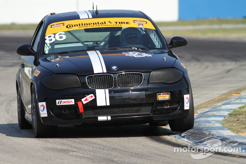 #86 Crucial Motorsports, BMW 128i: Sam Schechter, Aaron Nash