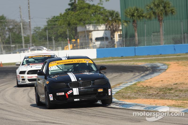 #86 Crucial Motorsports BMW 128i: Sam Schechter, Aaron Nash