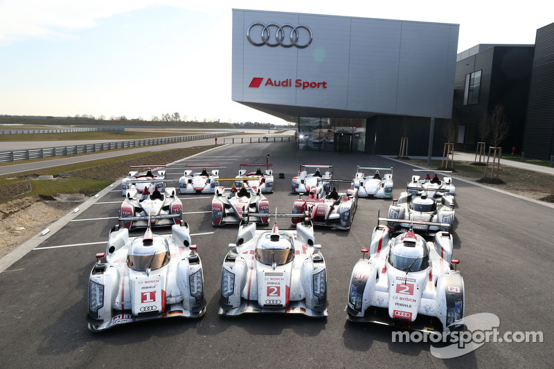 Le Mans winning prototypes 2000-2014