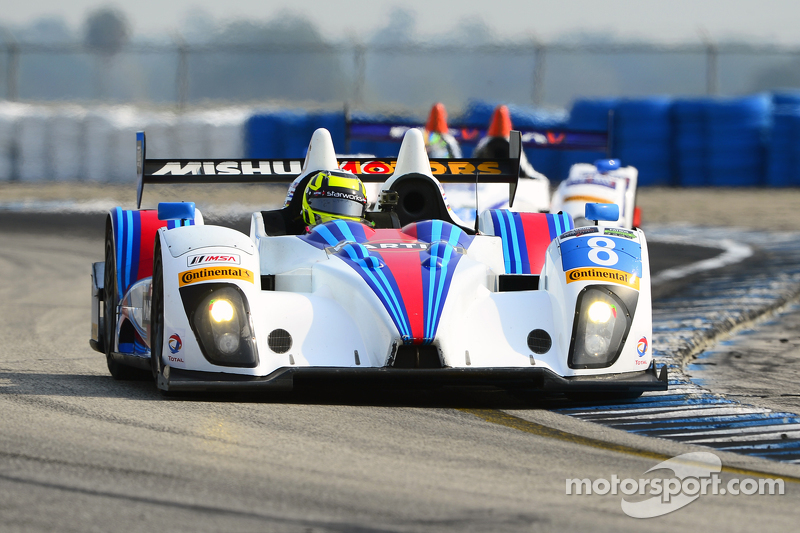 #8 Starworks Motorsport ORECA FLM09: Mirco Schultis, Renger van der Zande, Mike Hedlund