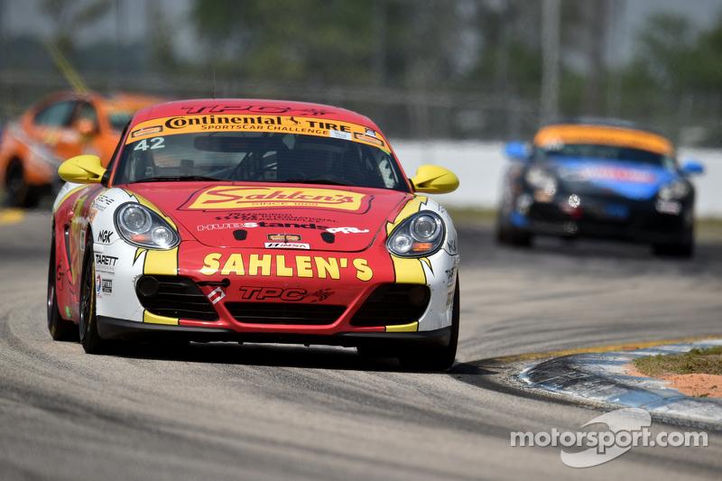 #42 Team Sahlen, Porsche Cayman: Will Nonnamaker, Jeff Segal