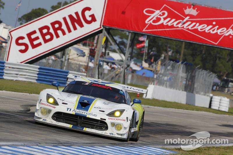 #93 Riley Motorsports Dodge Viper SRT: Al Carter, Ben Keating, Marc Goosens, Cameron Lawrence