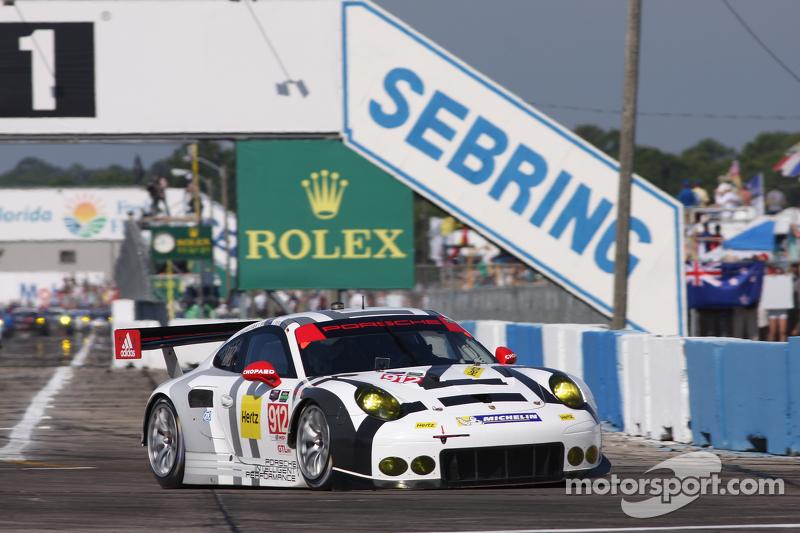 #912 保时捷北美,保时捷911 RSR: Jörg Bergmeister, Earl Bamber, Frederic Makowiecki