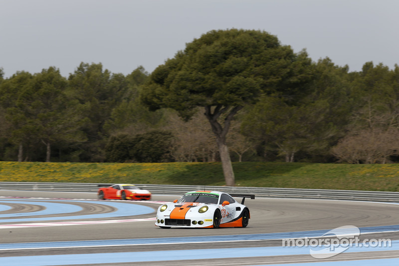 #86 海湾车队,英国,保时捷911 RSR: Michael Wainwright, Adam Carroll, Ryan Cullen, Ben Collins