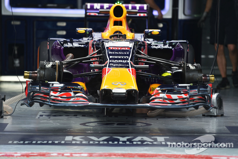 Red Bull Racing RB11 of Daniil Kvyat, Red Bull Racing