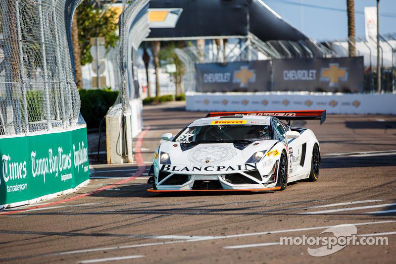 #37 Blancpain Racing Lamborghini Gallardo GT3 FL2: Maximilian Voelker