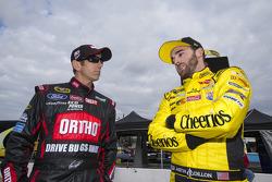 Greg Biffle, Roush Fenway Racing Ford, Austin Dillon, Richard Childress Racing Chevrolet