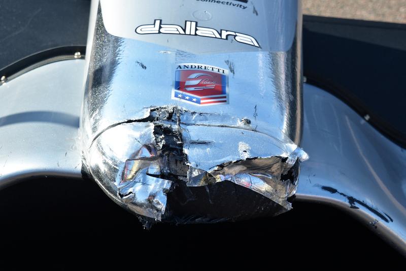 Andretti Autosport sección de la nariz