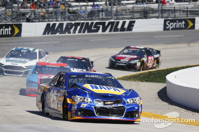 Probleme bei Chase Elliott, Hendrick Motorsports, Chevrolet