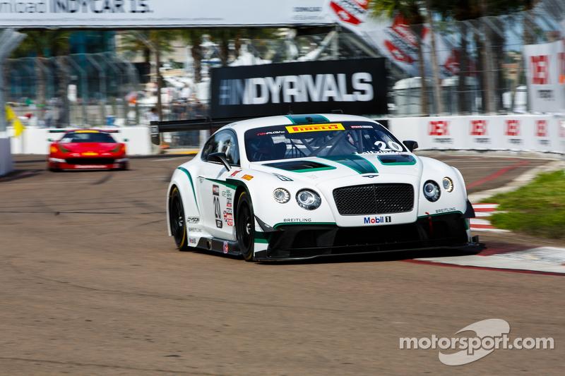 #20 Bentley Team Dyson Racing, Bentley Continental GT3: Butch Leitzinger