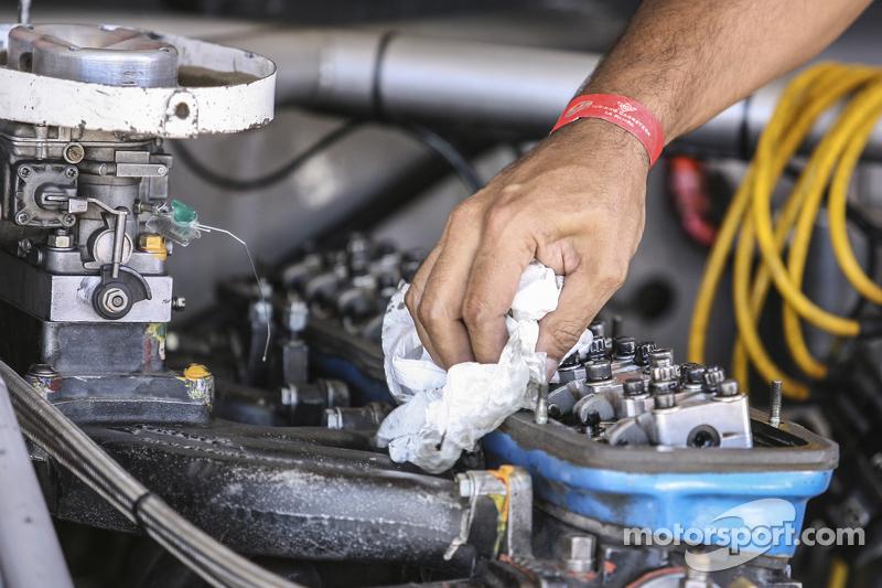 Carburadores Weber y motor Ford