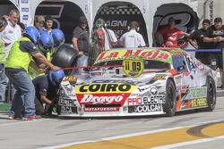 Sergio Alaux, Coiro Dole Racing, Chevrolet, beim Reifenwechsel-Training