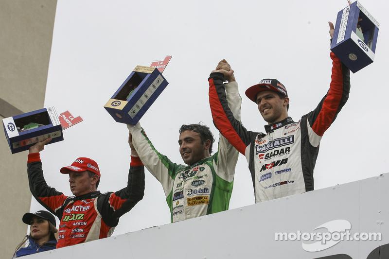 Guillermo Ortelli, JP Racing Chevrolet, Mariano Altuna, Altuna Competicion Chevrolet, Matias Rossi, Donto Racing Chevrolet