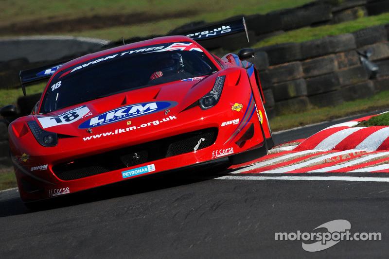 #18 FF Corse Ferrari 458: Adam Carroll, Gary Eastwood
