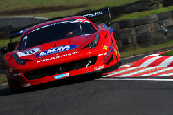 #18 FF Corse 法拉利458: Adam Carroll, Gary Eastwood