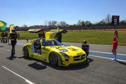 #70 GT Russian Team, Mercedes SLS AMG GT3: Bernd Schneider, Alexei Karachev