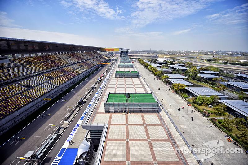 2004: Circuito Internacional de Shanghai