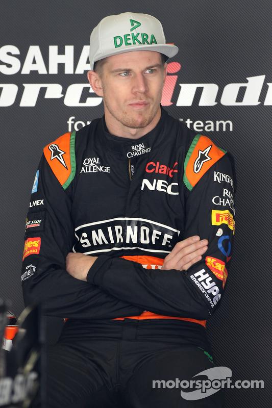 Ніко Хюлкенберг, Sahara Force India