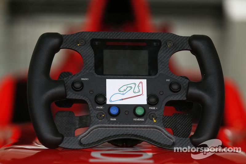GP3 volante de Kevin Ceccon Arden International