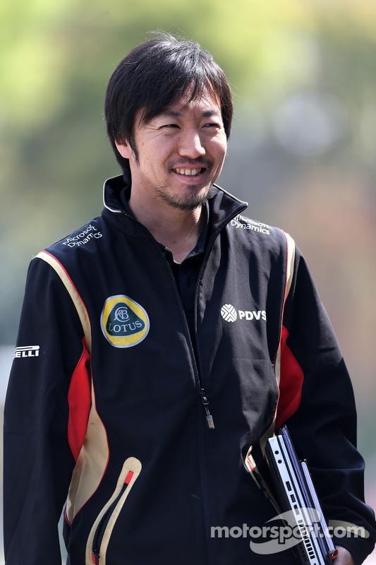 Ayao Komatsu, Lotus F1 Team