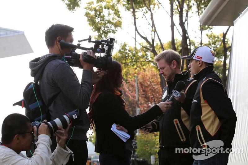 Romain Grosjean,, Lotus F1 Team