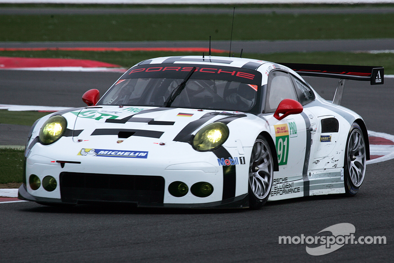 #91 Porsche Team Manthey, Porsche 911 RSR: Richard Lietz, Michael Christensen