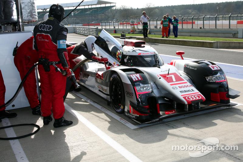 #7 Audi Sport Team Joest, Audi R18 e-tron quattro: Marcel Fässler, Andre Lotterer, Benoit Tréluyer