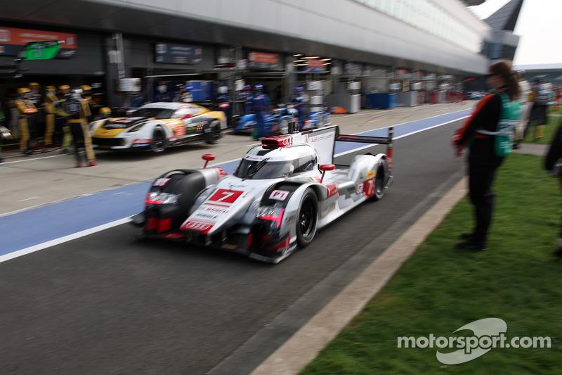 #7 Audi Sport Team Joest Audi R18 e-tron quattro: Marcel Fassler, Andre Lotterer, Benoit TreÌ_x0081_