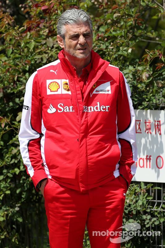 Maurizio Arrivabene, Scuderia Ferrari, director del equipo