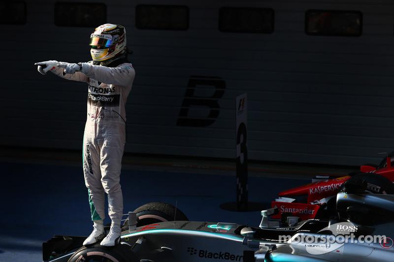 第一名,刘易斯·汉密尔顿,梅赛德斯AMG车队