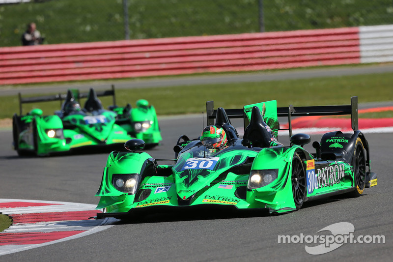 #30 Extreme Speed Motorsports, Honda HPD ARX-03B: Scott Sharp, Ryan Dalziel, David Heinemeier Hansson und #31 Extreme Speed Motorsports, Honda HPD ARX-03B: Ed Brown, David Brabham, Jon Fogarty