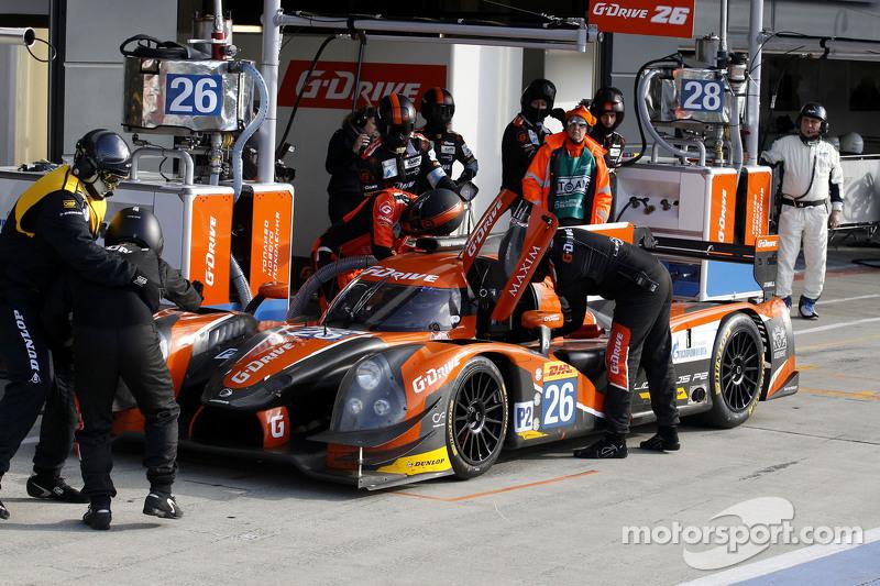 #26 G-Drive Racing Ligier JS P2 Nissan: Roman Rusinov, Juien Canal, Sam Bird