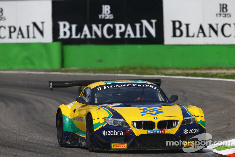 #1 BMW Sports Trophy Team Brasil BMW Z4: Caca Bueno, Sergio Jimenez, Felipe Fraga