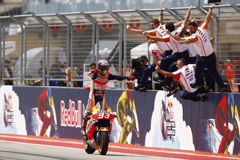 获胜者: 马科·马奎兹, Repsol本田车队
