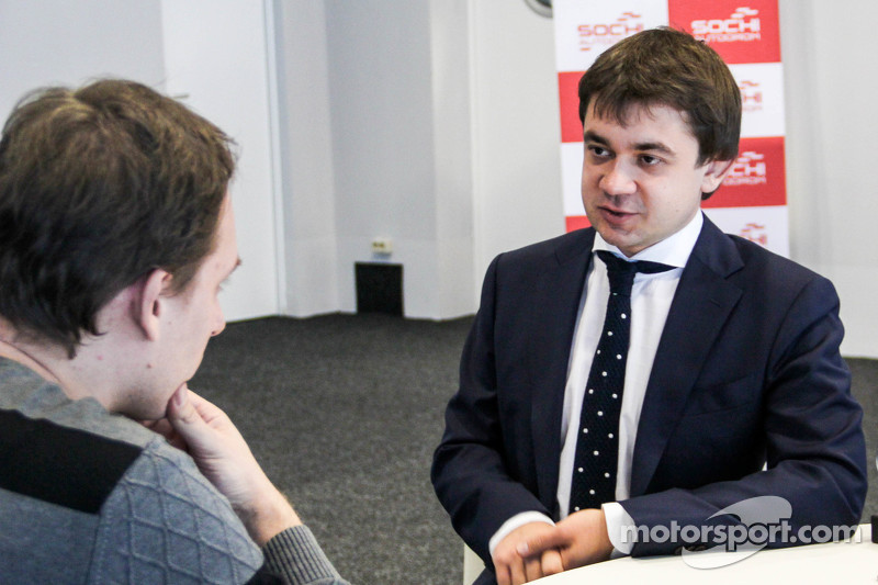Сергей Воробьев, промоутер Гран-при России