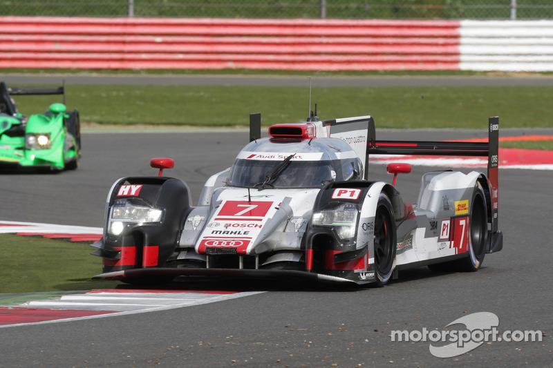 #7 Audi Sport Team Joest, R18 e-tron quattro: Marcel Fässler, André Lotterer, Benoit Tréluyer