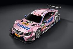 Mercedes C63 DTM Лукаса Ауэра