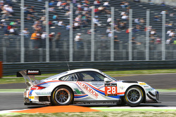 #28 Delahaye Racing Team, Porsche 997 GT3 R: Pierre Bordet, Alexandré Viron