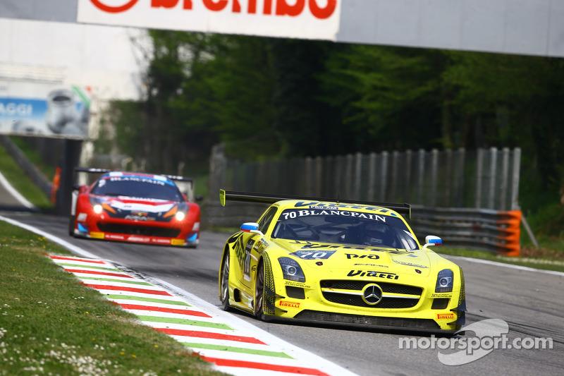 #70 俄罗斯GT车队, 梅赛德斯SLS AMG GT3: Alexei Karachev, Bernd Schneider